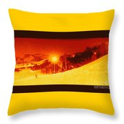 Park City Gold Throw Pillow