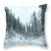 Park City Utah  Throw Pillow