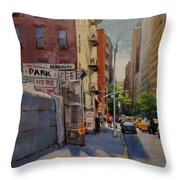 Park Here Throw Pillow