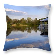 Park In Radziejowice Throw Pillow