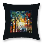 Park Throw Pillow