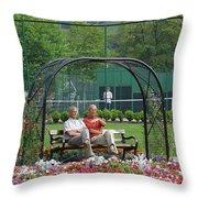 Park Life Throw Pillow