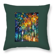 Park New Throw Pillow