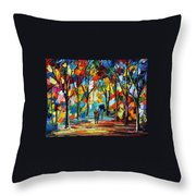 Park Of Freedom Throw Pillow