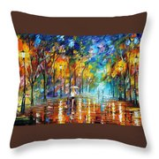 Park Of Pleasure Throw Pillow