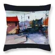 Park St Alameda Throw Pillow