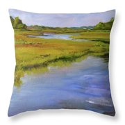 Parker's River, Cape Cod Throw Pillow