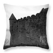 Parkes Castle County Leitrim Ireland Throw Pillow