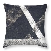 Parking Lot 6 Throw Pillow