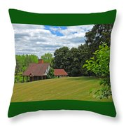Parkland Cottage Throw Pillow