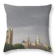 Parliament Blizzard  Throw Pillow