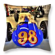 Parnelli At Indianapolis Throw Pillow