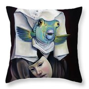Parrishfish Throw Pillow