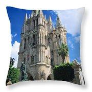 Parroquia Church Throw Pillow