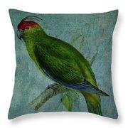 Parrot Fashion Throw Pillow
