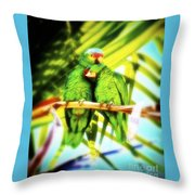 Parrotheads 2016 Redux For Shirts Throw Pillow