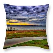 Parrsboro Dawn Throw Pillow