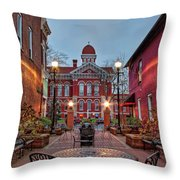 Parry Court 2 Throw Pillow