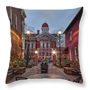Parry Court Throw Pillow