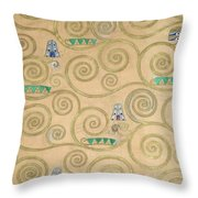 Part Of The Tree Of Life, Part 1 Throw Pillow
