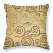 Part Of The Tree Of Life, Part 5 Throw Pillow