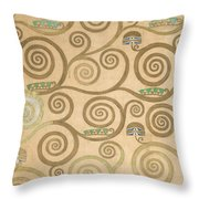 Part Of The Tree Of Life, Part 7 Throw Pillow