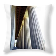 Parthenon Nashville 3 Throw Pillow