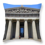 Parthenon Nashville 5 Throw Pillow