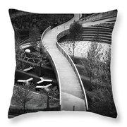 Parthenon Walk Throw Pillow