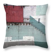 Partial Demolition  Throw Pillow