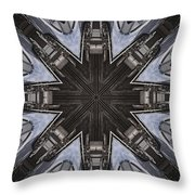 Particle Accelerator Throw Pillow