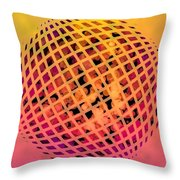 Particle Zoo Throw Pillow
