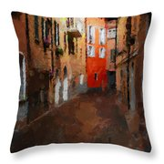 Parting Throw Pillow