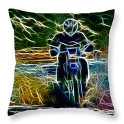 Parting Waters Throw Pillow