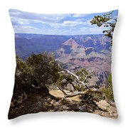 Partly Cloudy - Grand Canyon Throw Pillow