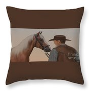 Partners Throw Pillow by Corey Ford