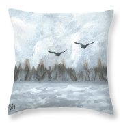 Partners For Life Throw Pillow