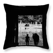 Partners Quote Throw Pillow