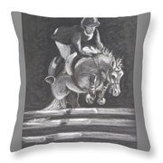 Partnership Throw Pillow