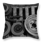 Parts Of The Whole Throw Pillow