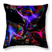 Party All The Time Throw Pillow