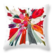 Party Bouquet IIi Pf Throw Pillow