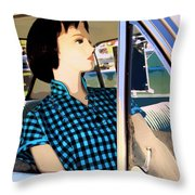 Party Doll Throw Pillow