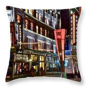 Party In Cleveland Throw Pillow