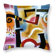 Party In The Kitchen Throw Pillow
