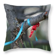 Party's Over Throw Pillow