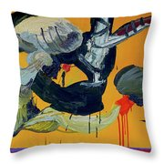 Pas De Trois Throw Pillow