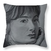 Pascale Bussieres Throw Pillow