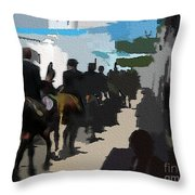 Paseo 2 Throw Pillow