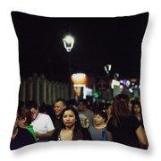 Paseo El Carmen Santa Tecla Throw Pillow